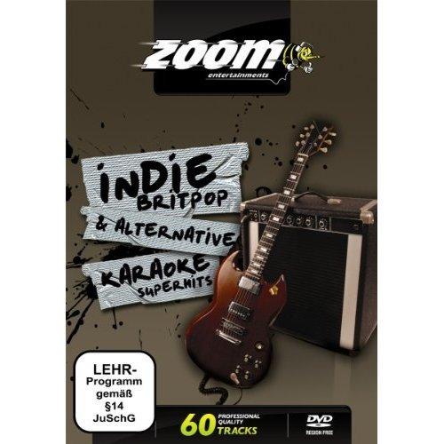 Zoom Karaoke DVD - Indie, Britpop & Alternative Superhits Karaoke - 60 Songs