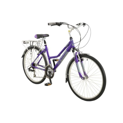 """26"""" Voyager BIKE - Premium Mountain Bicycle FALCON (Womans) in PURPLE Comfort"""