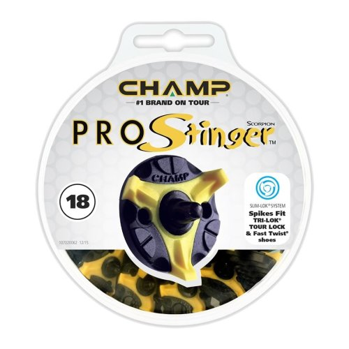 Champ Pro Stinger Golf Spikes Tri-Lok Fast Twist (Slim-Lok)