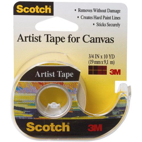 "Scotch Artist Tape For Canvas-.75""X10yd"