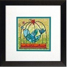 D71-07235 - Dimensions Mini Needlepoint - Birdie