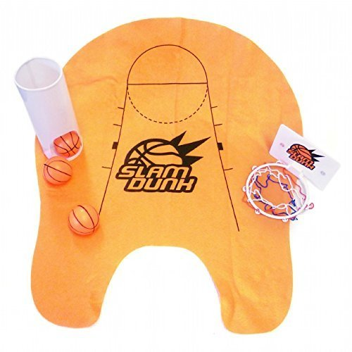 Thumbsup UK Slam Dunk Toilet Basketball Set