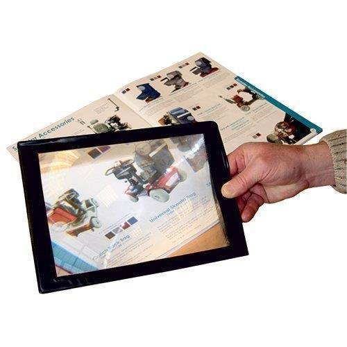 Full Page Magnifier - Sheet Magnifying Glass Assisted Reading Aid.