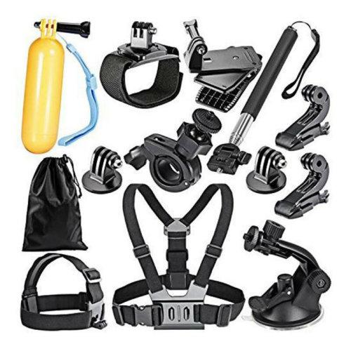 GoPro Accessories Set Hero 5 Black 6 4 3 HD Action Camera Sport Kit Pack UK