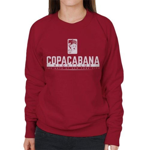 Copacabana Nightclub Goodfellas Women's Sweatshirt