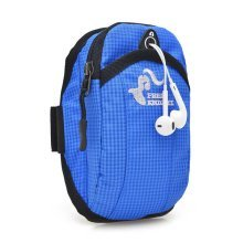 6'' Women Men Nylon With Earphone Hole Arm Bag Running Must-have Phone Bag