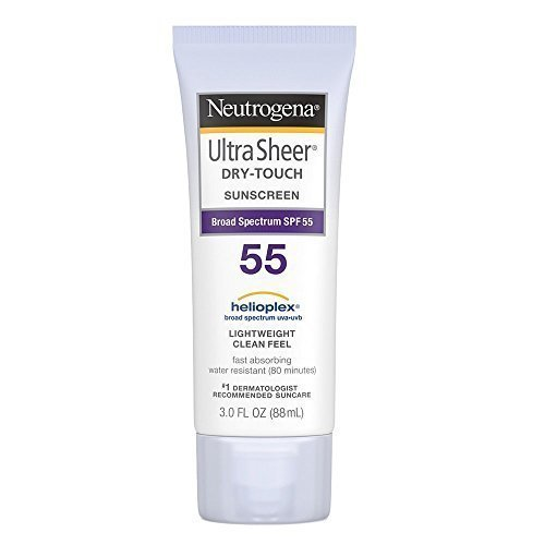 Neutrogena Ultra Sheer Dry Touch Sunscreen Spf 55 3 Ounces Pack Of 2