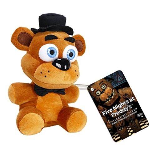 """Funko Five Nights at Freddys Freddy Fazbear Plush, 6"""""""