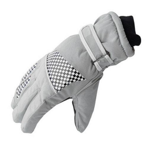 Men/Women Windproof/Waterproof Winter Skiing/Cycling/Hiking Gloves Creamy White