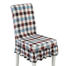 [Lattice-02] Stretch Dining Chair Slipcover Chair Cover Chair Protector