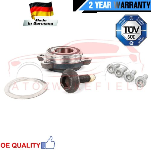 FOR AUDI A6 FRONT AXLE RIGHT 4F2 4F5 4FH C6 FRONT WHEEL BEARING HUB FLANGE KIT