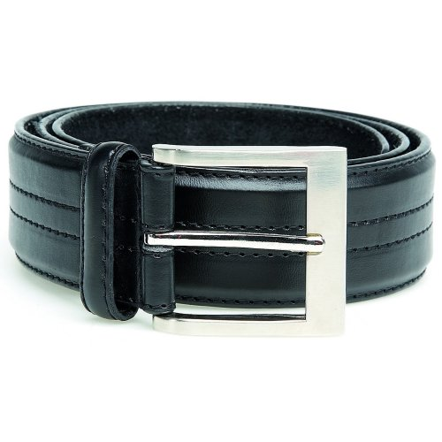 Duke Mens D555 Harley Kingsize Four Line Stitched Belt