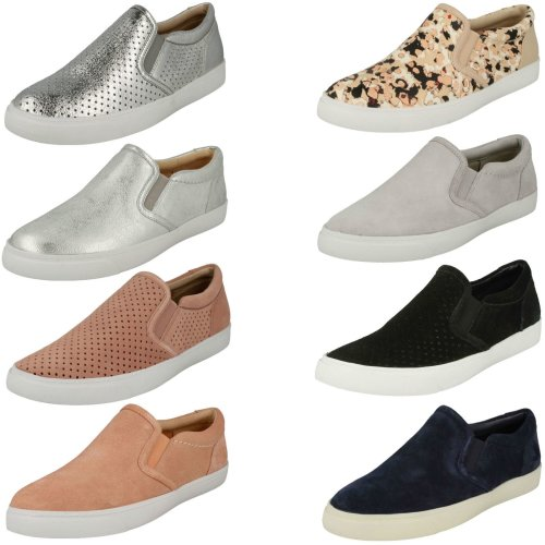 Ladies Clarks Casual Shoes Glove Puppet - D Fit