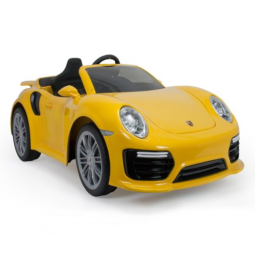 Porsche 911 Turbo S - 6 Volt - Yellow