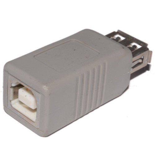 USB 2.0 Adapter/Converter A female to B female