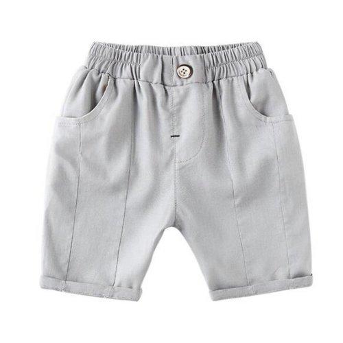 Baby Boy Short Pants Cute Short Pants for Summer Suitable for 130cm [C]