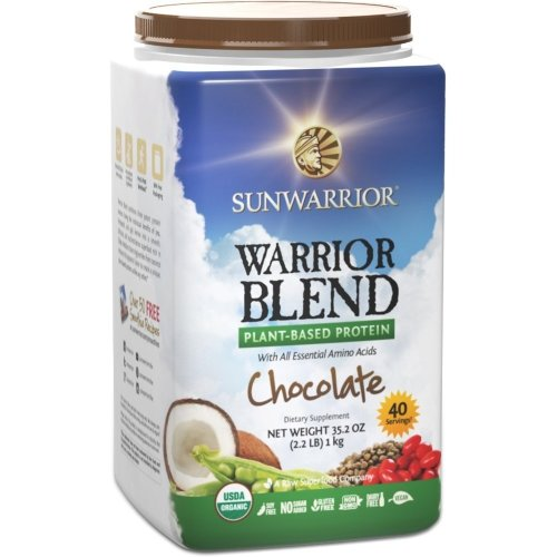 Sunwarrior Warrior Blend Raw Vegan Protein