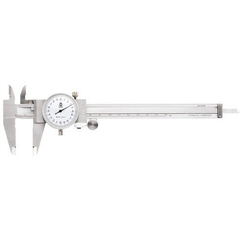 Moore & Wright MW141-15I Dial Caliper White Face 0-6in