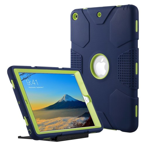 super popular 8bcb9 0fcdb ULAK New iPad 9.7 inch 2018/2017 Case, Triple Layer Design Heavy Duty  Shockproof Protective Rugged Cover Armor Case for Apple New iPad 9.7 inch...