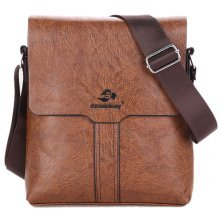 Men PU Leather Fashion Business Briefcase