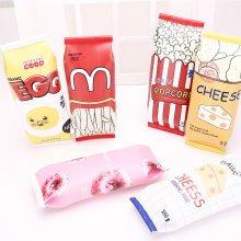 Food packaging kawaii Macaron Cookie Pencil Case