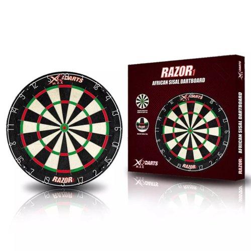 XQmax Darts Arrow Dartboard Dart Board Darts Razor 1 Sisal 45.5 cm QD6000010