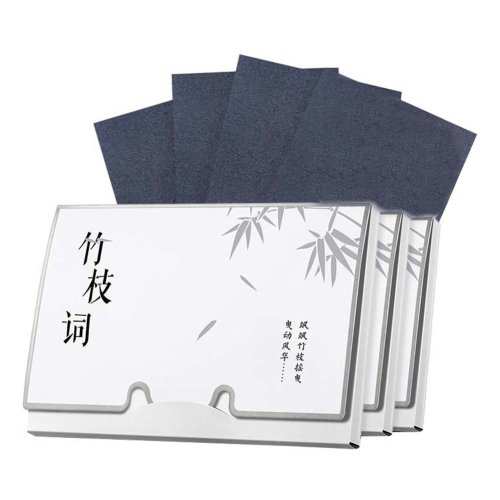 Portable Design Oil Control Blotting Paper, Bamboo Charcoal Scent, 300 sheets