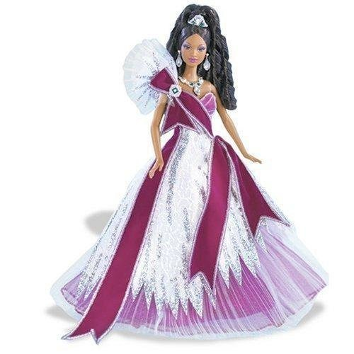 2005 Holiday Barbie - Burgundy (Ethnic)