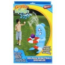 Wham-O Dolphin Basketball Sprinkler Giggle n Splash
