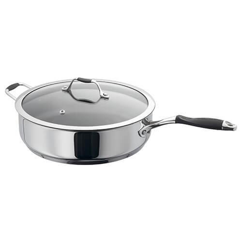 James Martin Non-Stick 28cm Saute Pan with Helper Handle