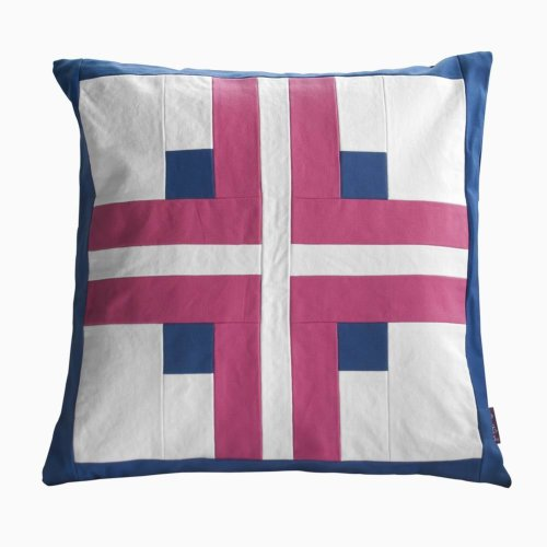 Splicing Decorative Pillows Elegant Body Pillows, Inner Included [Cross Pattern]