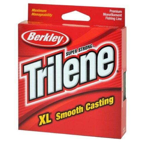 Berkley Trilene XL Smooth Casting Monofilament Service Spools (XLPS12-15), 110 Yd, pound test 12 - Clear