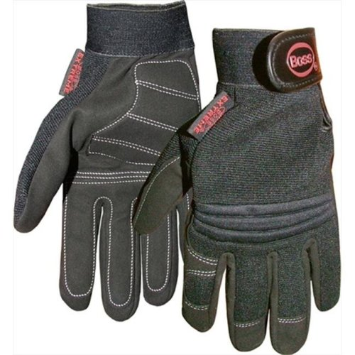 Boss 4041M Medium Extreme Glove in Black - Pack of 12