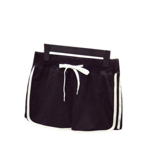 Women's Hot Active Wear Lounge Shorts Elastic Waist Gym Pants,#A 8