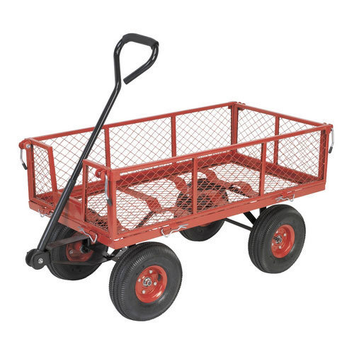 Sealey CST997 Platform Truck with Removable Sides & Pneumatic Tyres 200kg Capacity