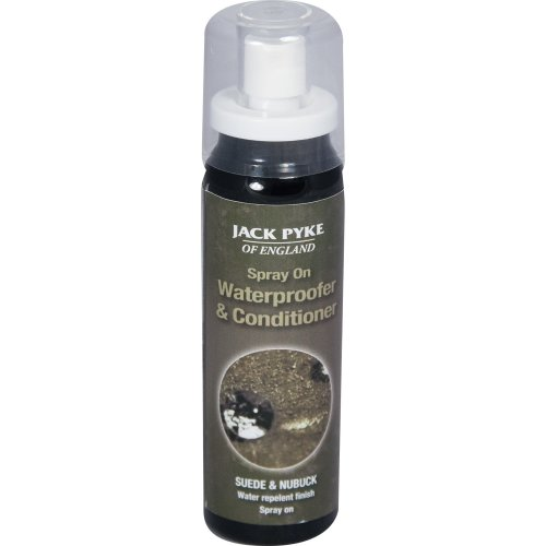 Jack-Pyke- Suede and Nubuck Clear Waterproofing and Conditioning Spray