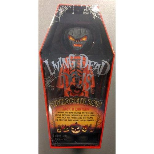 Mezco Living Dead Dolls Orange Jack O Lantern Halloween 2016 Brand New Sealed