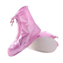 Hiking/Climbing/Camping/Skiing Shoes Gaiter Rain Shoes Cover- XL Pink