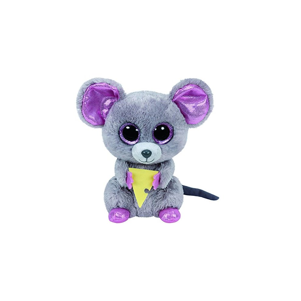 TY Beanie Boo Plush - Squeaker the Mouse 15cm on OnBuy 74dc3d883751