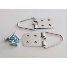 Heavy Duty 4 Hole Strap Hangers for Pictures and Mirrors - Great Quality - Pack of 10