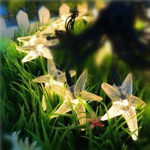 KCASA SSL-11 Gardening 6M 30LED Solar Panel String Light Starfish Holiday Party Wedding Decoration