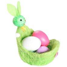 Children DIY Easter Eggs/Plastic/Painting Eggs-(Set of Five)-Green