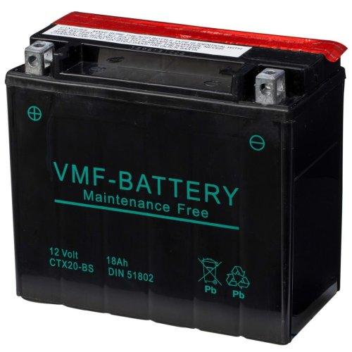 VMF Powersport Liquifix Battery 12 V 18 Ah MF CTX20-BS