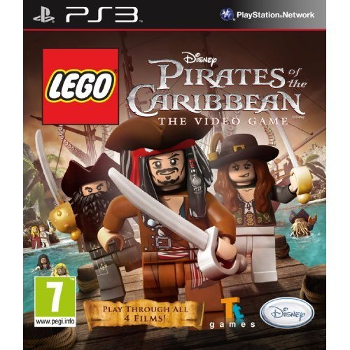 Used Lego Pirates Of The Caribbean Ps3 On Onbuy