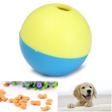 Pet Cat Dog Kitty Puppy Play Toy Food Ball Food Treat Feeder Dispenser