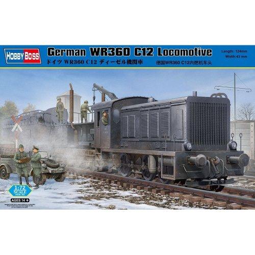 Hobbyboss 1:72 Scale German WR360 C12 Locomotive Assembly Kit