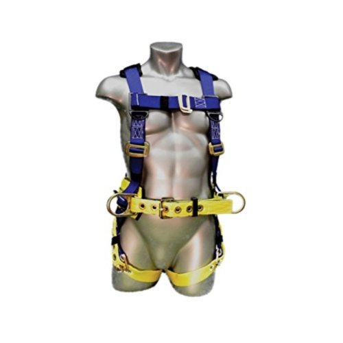 Elk River WorkMaster Polyester/Nylon 3 D Ring Harness with Tongue Buckles