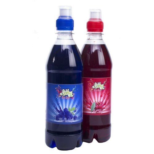 Lickleys Slush Syrup for Slush Style Ice Drinks, 2 x 500ml Bottles, Choose Your Own Flavour Combinations
