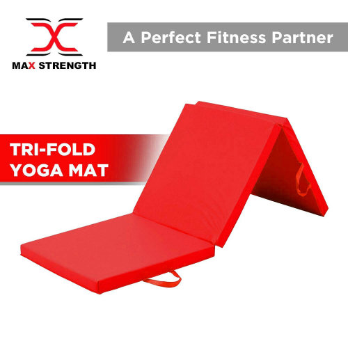 Soft Folding Panel Gymnastics Mat GYM Yoga Pilates Fitness Exercise