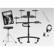 Alesis Nitro Electronic Drum Kit With Free Backbone Tutorial Book and CD Worth £15.99